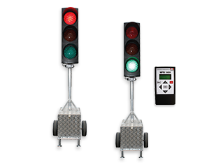 Portable traffic lights